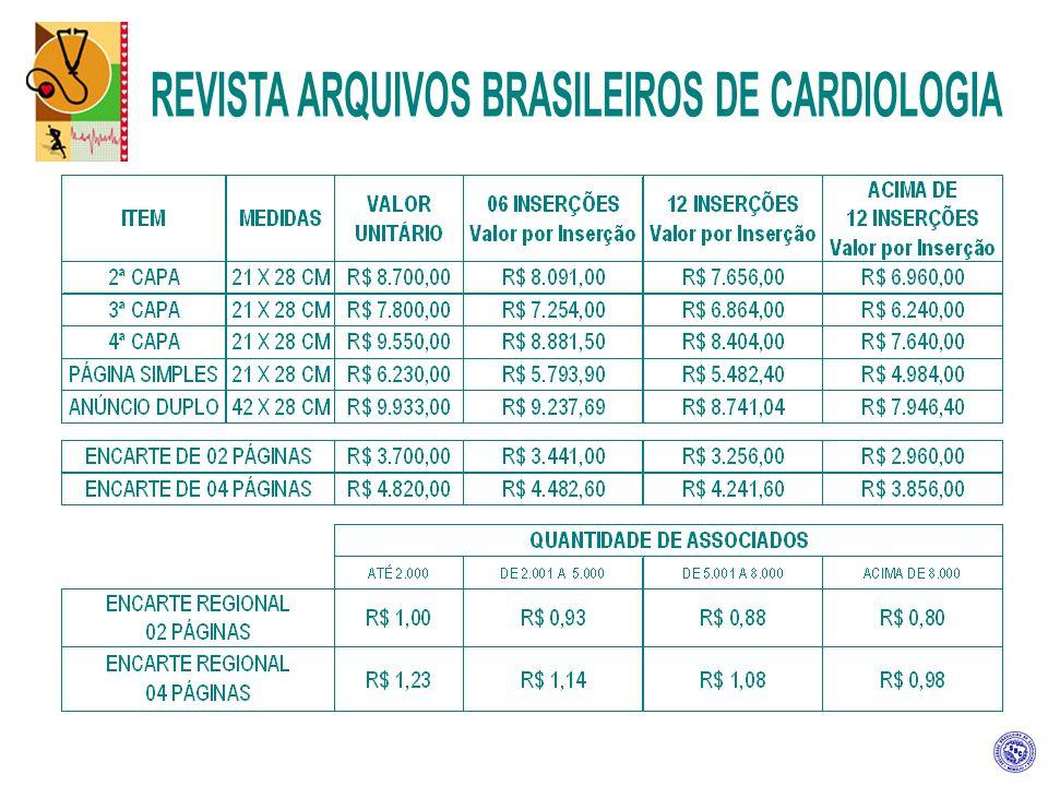 SETOR COMERCIAL DA SBC Rua Beira Rio 45, 3º andar – Vila Olímpia CEP 04548-050 – São Paulo – SP Telefones: (0xx11) 3411 5519 / 3411 5522 Fax: (0xx11) 3411 5504 e-mail: comercialsp@cardiol.br Site: www.cardiol.brwww.cardiol.br RODOLFO VIEIRA – GERÊNCIA COMERCIAL REBECA BERNAL GALTÉS rebeca@cardiol.br CARLOS EDUARDO FREITAS carlosfreitas@cardiol.br