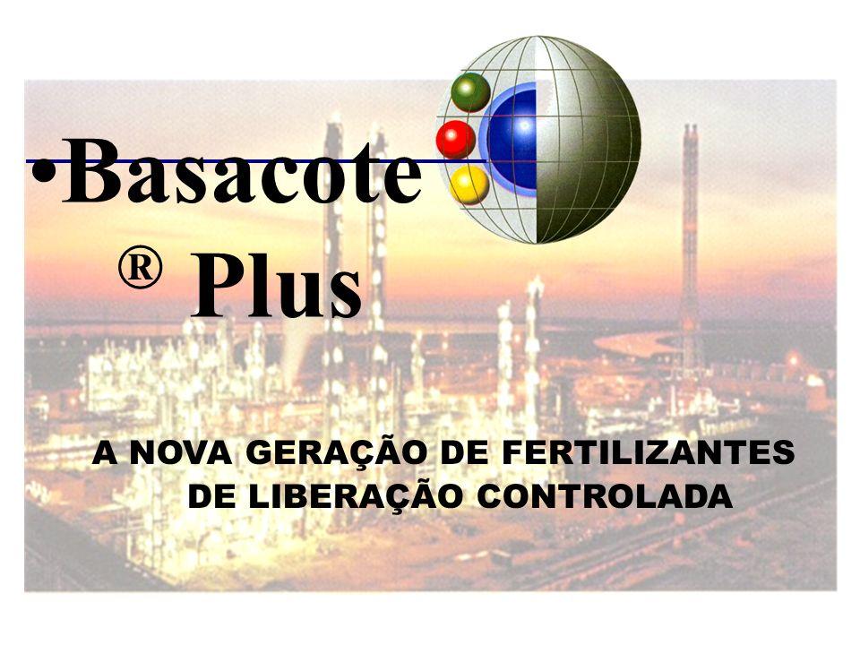 A NOVA GERAÇÃO DE FERTILIZANTES DE LIBERAÇÃO CONTROLADA Basacote ® Plus