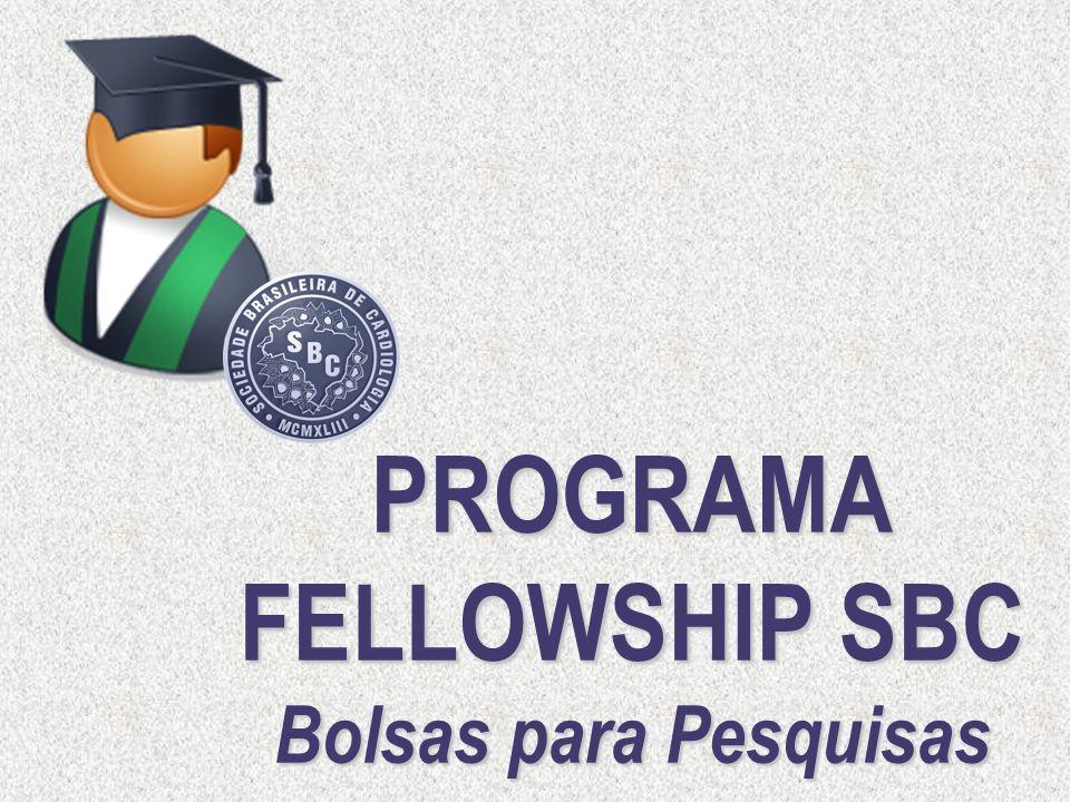 PROGRAMA FELLOWSHIP SBC Bolsas para Pesquisas