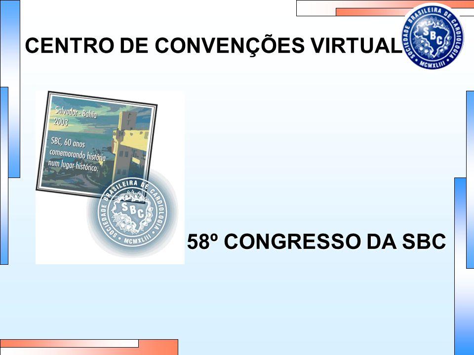 CENTRO DE CONVENÇÕES VIRTUAL 58º CONGRESSO DA SBC