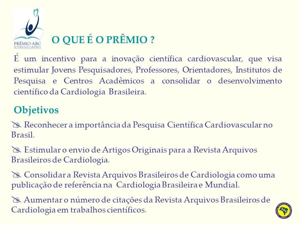 É um incentivo para a inovação científica cardiovascular, que visa estimular Jovens Pesquisadores, Professores, Orientadores, Institutos de Pesquisa e Centros Acadêmicos a consolidar o desenvolvimento científico da Cardiologia Brasileira.