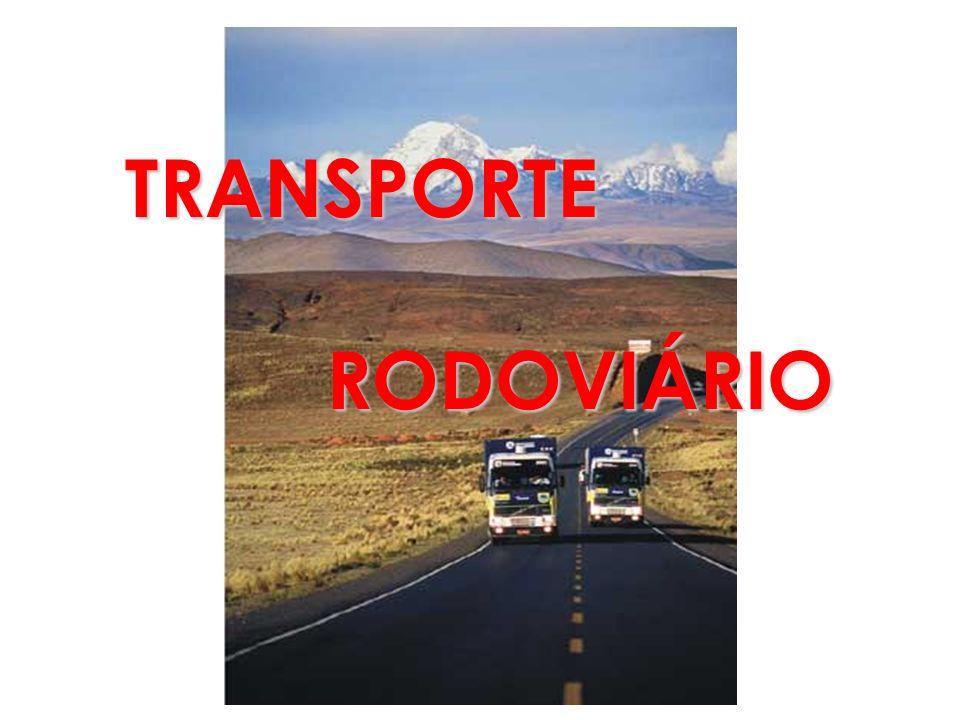 TRANSPORTE RODOVIÁRIO RODOVIÁRIO