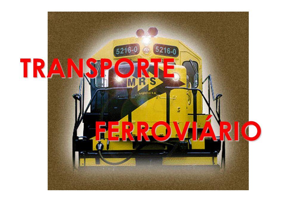 TRANSPORTE FERROVIÁRIO FERROVIÁRIO