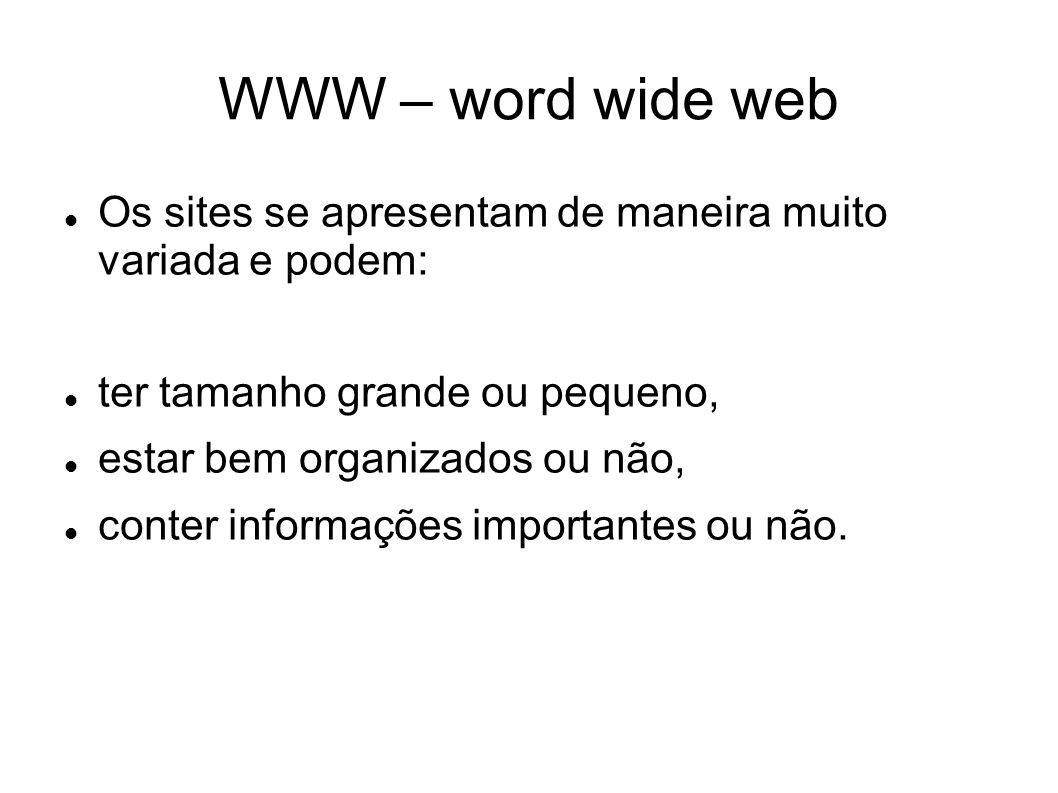 Como funciona a WWW.