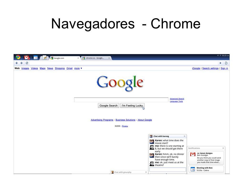 Navegadores - Internet explorer