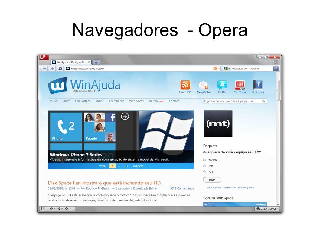 Navegadores - Firefox