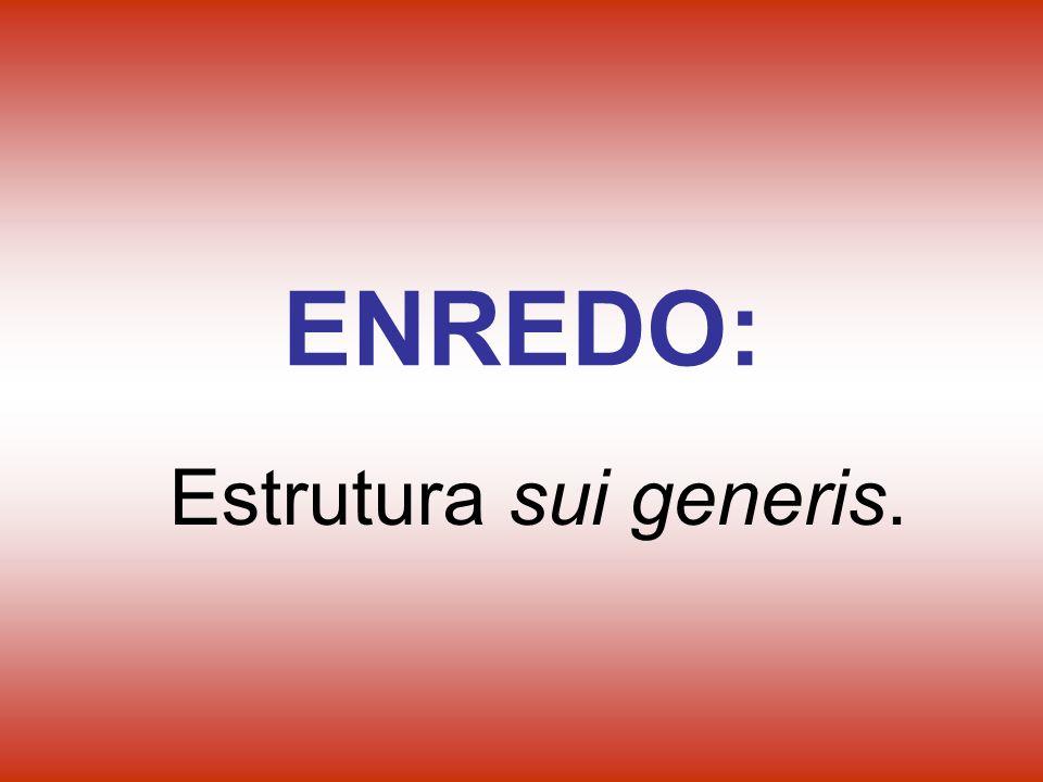 ENREDO: Estrutura sui generis.