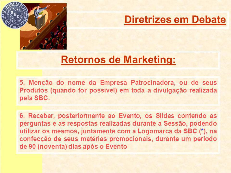 Retornos de Marketing: 5.