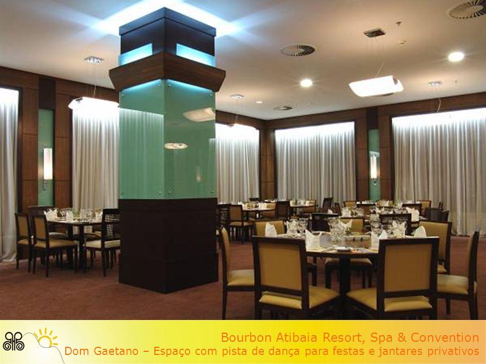 Bourbon Atibaia Resort, Spa & Convention Dom Gaetano – Espaço com pista de dança para festas e jantares privativos