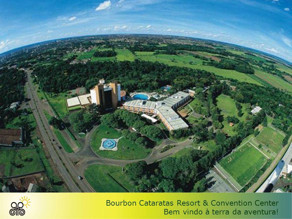 Bourbon Cataratas Resort & Convention Center Bem vindo à terra da aventura!