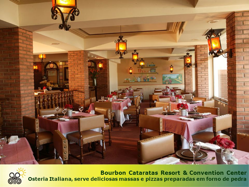 Bourbon Cataratas Resort & Convention Center Restaurante Tarobá