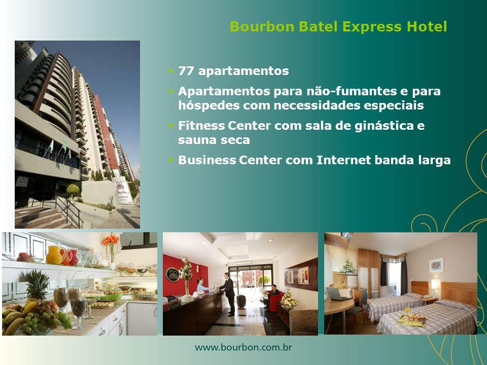 77 apartamentos Apartamentos para não-fumantes e para hóspedes com necessidades especiais Fitness Center com sala de ginástica e sauna seca Business C