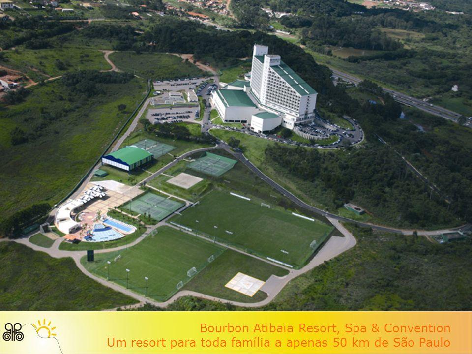 Bourbon Atibaia Resort, Spa & Convention Um resort para toda família a apenas 50 km de São Paulo
