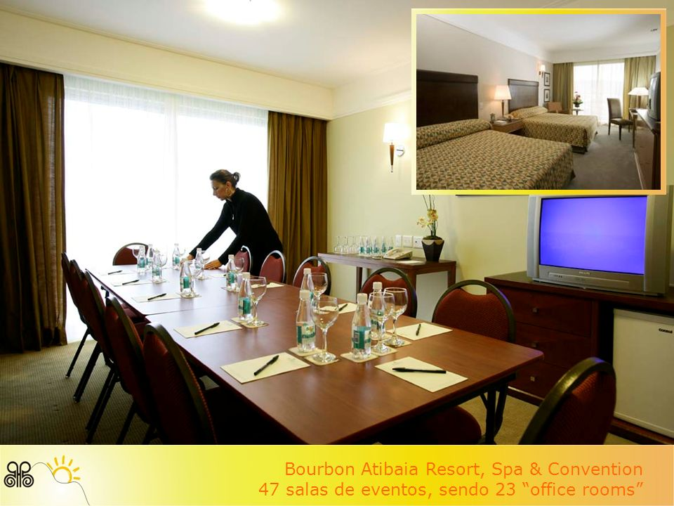 Bourbon Atibaia Resort, Spa & Convention Grand ballroom para 2.500 pessoas
