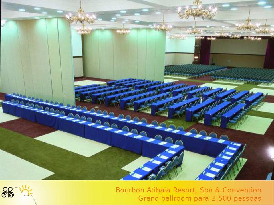 Bourbon Atibaia Resort, Spa & Convention Grand ballroom para 2.500 pessoas