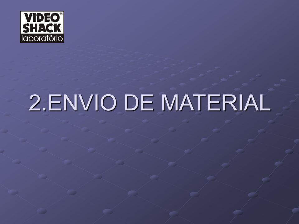 2.1 E NVIO DE MATERIAL- HISTÓRICO 2.1 E NVIO DE MATERIAL- HISTÓRICO COMO ERA.