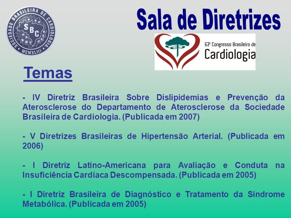 - IV Diretriz Brasileira Sobre Dislipidemias e Prevenção da Aterosclerose do Departamento de Aterosclerose da Sociedade Brasileira de Cardiologia. (Pu