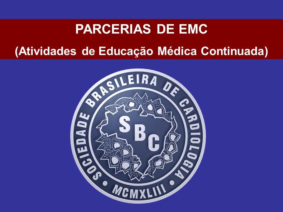 PARCERIAS DE EMC (Atividades de Educação Médica Continuada)