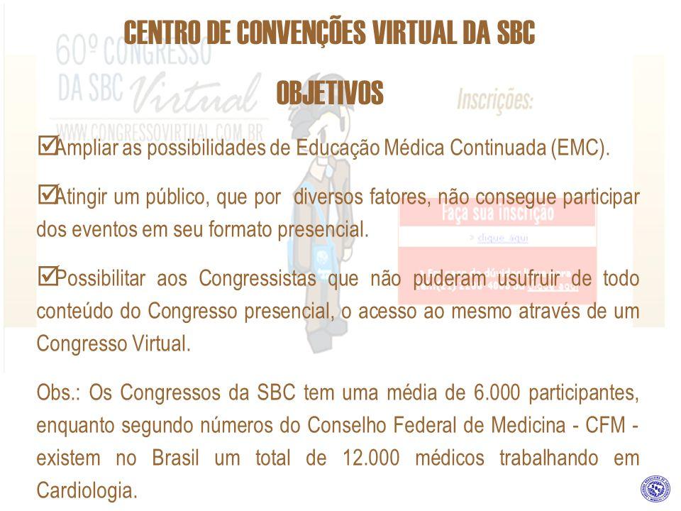 CENTRO DE CONVENÇÕES VIRTUAL DA SBC SETOR COMERCIAL SBC/SP Rua Beira Rio 45, 3º andar – Vila Olímpia CEP 04548-050 – São Paulo – SP Telefone: (0xx11) 3849-6438 Ramais: 54, 58 ou 59 e-mail: comercialsp@cardiol.br RODOLFO VIEIRA – GERÊNCIA COMERCIAL rodolfo@cardiol.br REBECA BERNAL GALTÉS rebeca@cardiol.br CARLOS EDUARDO FREITAS carlosfreitas@cardiol.br ESTE PROJETO CONTA PONTOS PARA O RANKING DA SBC