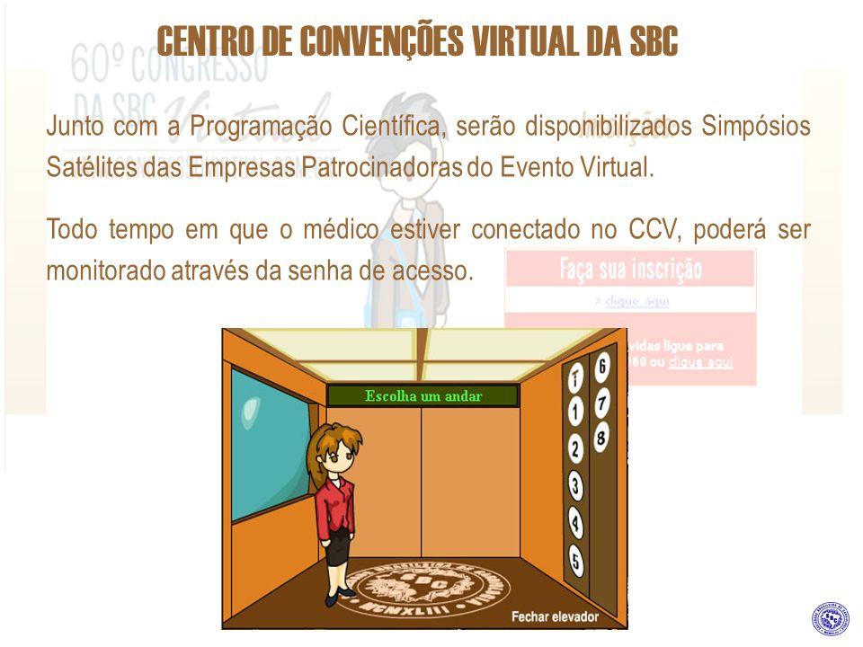 Junto com a Programação Científica, serão disponibilizados Simpósios Satélites das Empresas Patrocinadoras do Evento Virtual. Todo tempo em que o médi