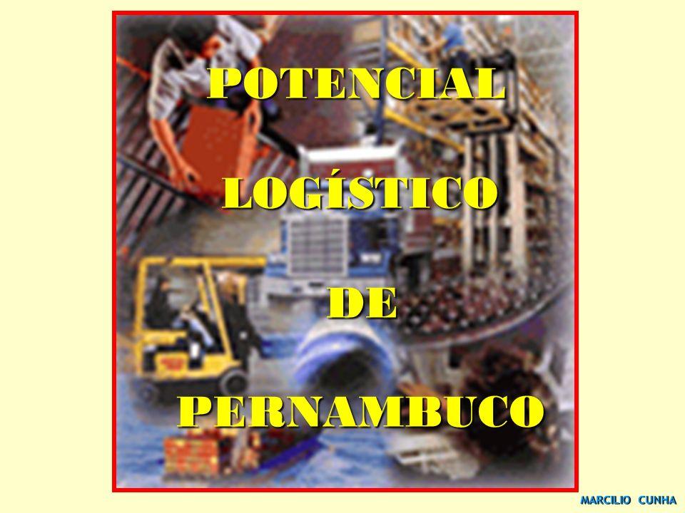 MARCILIO CUNHA POTENCIAL POTENCIAL LOGÍSTICO LOGÍSTICO DE DE PERNAMBUCO PERNAMBUCO