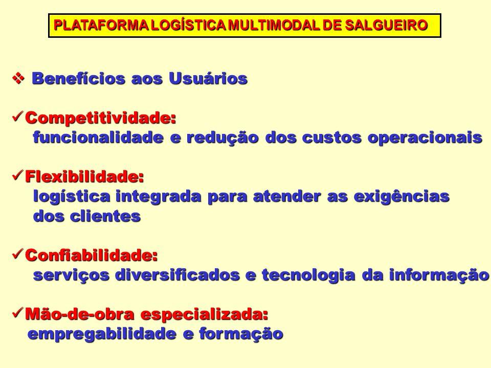 Benefícios aos Usuários Benefícios aos Usuários Competitividade: Competitividade: funcionalidade e redução dos custos operacionais funcionalidade e re