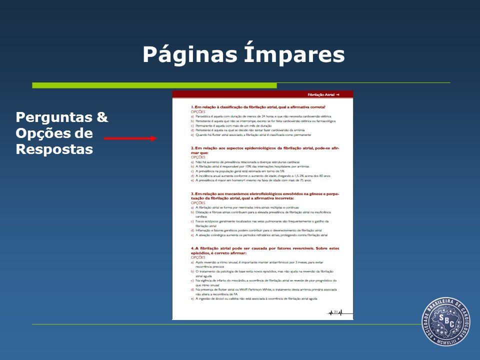 Estrutura da Publicação Nas Páginas Pares (verso), estarão dispostos os Comentários de cada Editor.