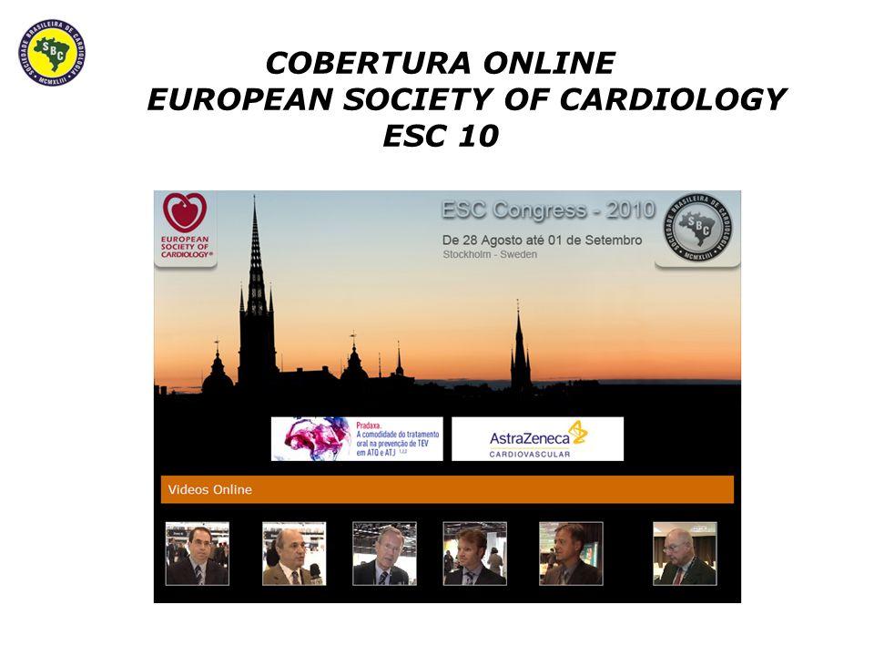 Ser Patrocinadora da Cobertura Online no 66º Congresso Brasileiro de Cardiologia, de Forma Parcial no Tema do seu interesse.