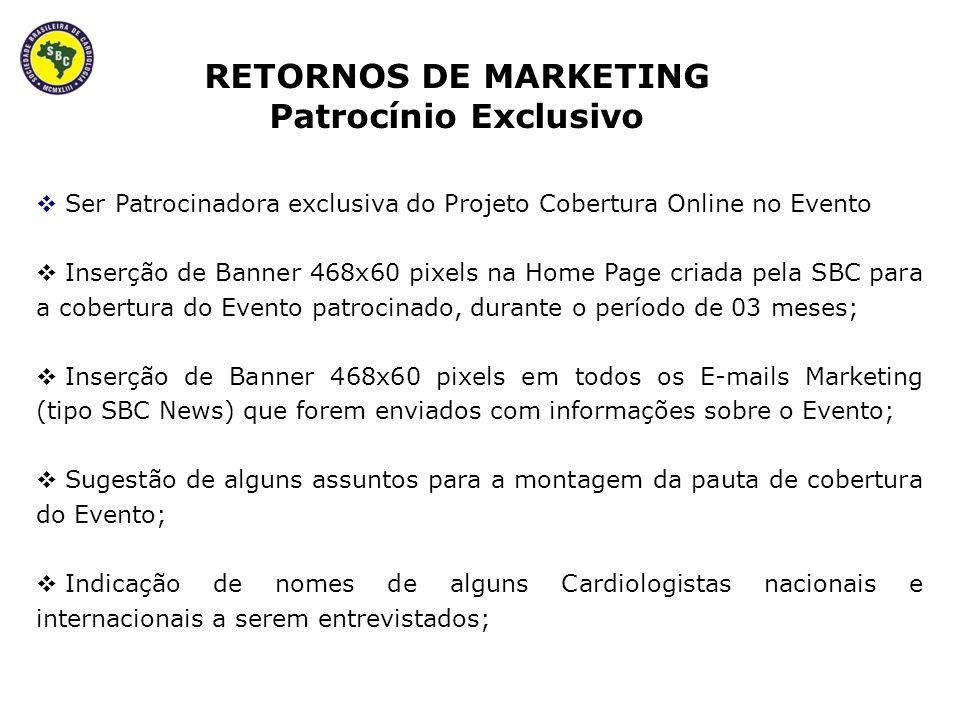 Recebimento de agradecimento na edição do Jornal da SBC que veicular o fechamento da cobertura do Evento; Receber pontuação com 100% de Bonificação no Ranking da SBC.