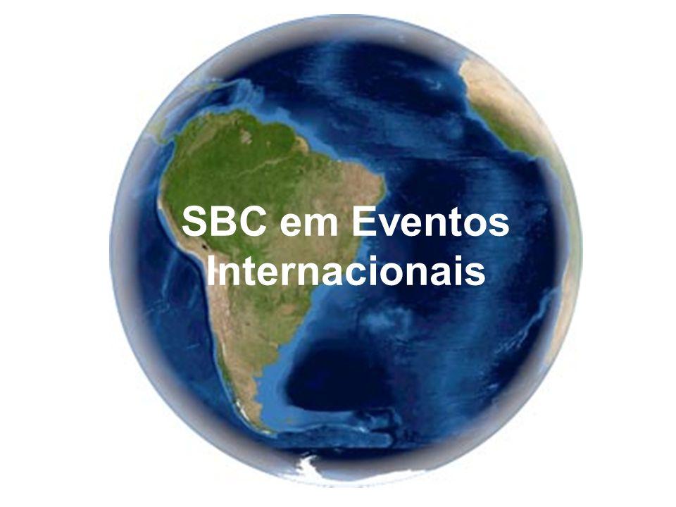 SBC em Eventos Internacionais