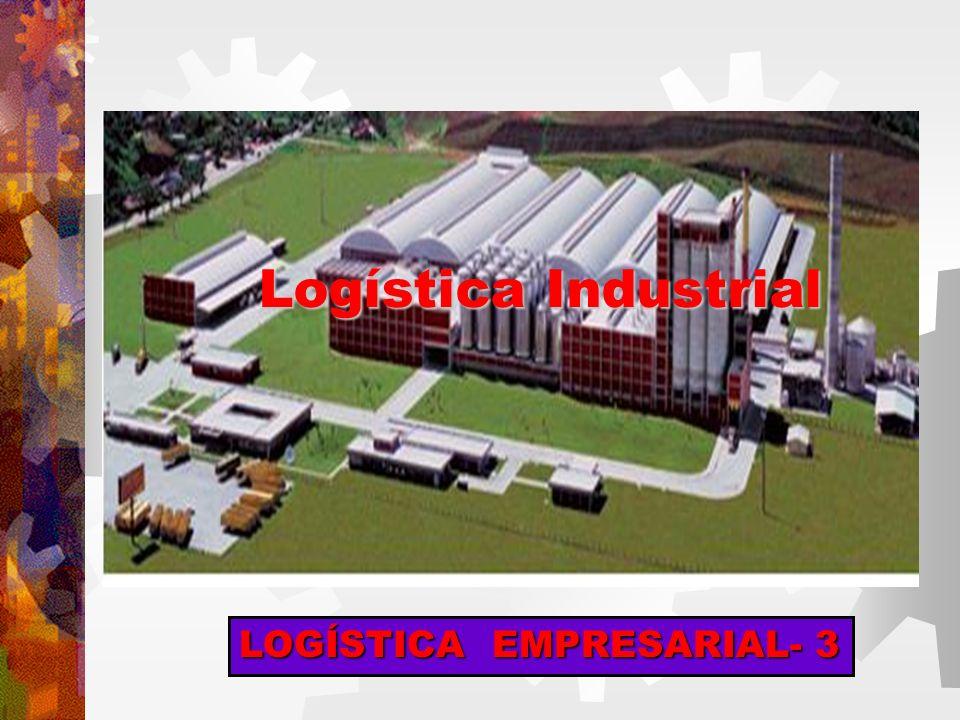 LOGÍSTICA EMPRESARIAL- 3 Logística Industrial