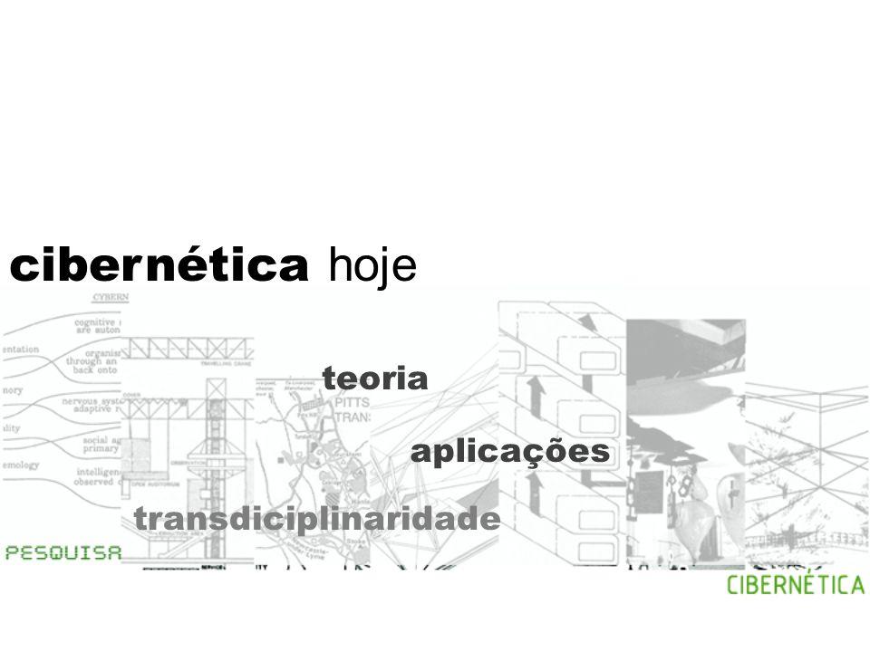 cibernética e arquitetura arquitetura e cibernética Os arquitetos são os primeiros designers de sistemas (…) Gordon Pask, The Architectural relevance of Cybernetics, 1969