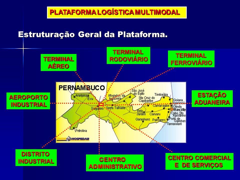 PLATAFORMA LOGÍSTICA MULTIMODAL TERMINAL RODOVIÁRIO FERROVIÁRIO ESTAÇÃO ADUANEIRA CENTRO COMERCIAL E DE SERVIÇOS E DE SERVIÇOS CENTRO CENTROADMINISTRA