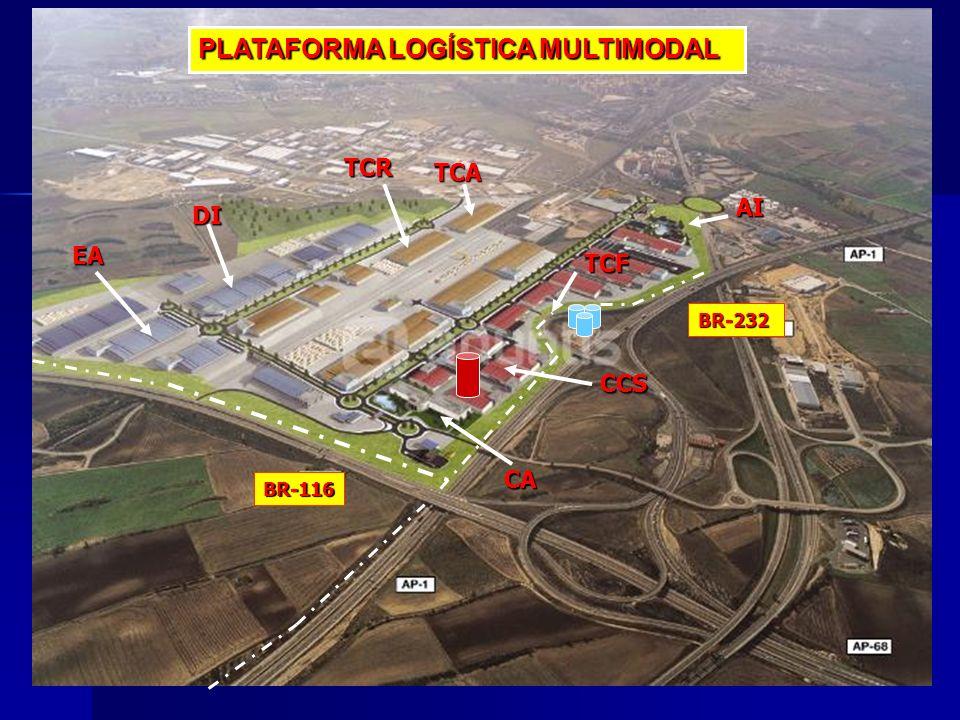 PLATAFORMA LOGÍSTICA MULTIMODAL DI EA AI CCS TCF CA TCA TCR BR-116 BR-232