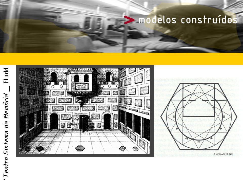 > modelos construídos Teatro Sistema da Memória _ Fludd