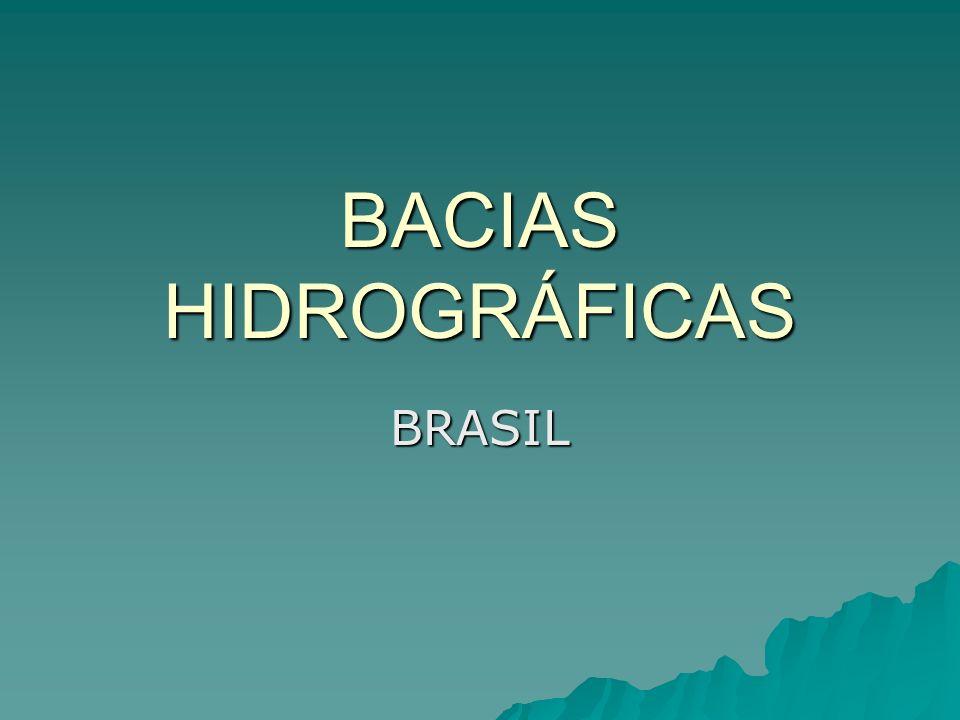 BACIAS HIDROGRÁFICAS BRASIL