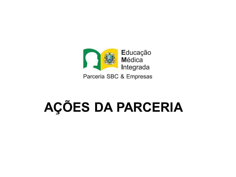 AÇÕES DA PARCERIA