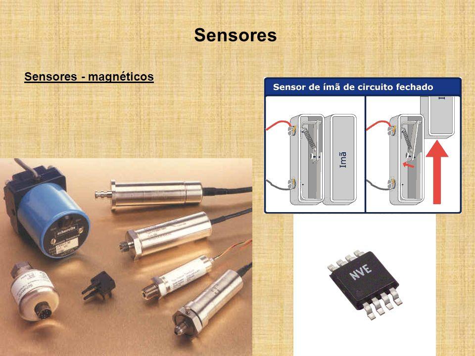 Sensores Sensores - magnéticos