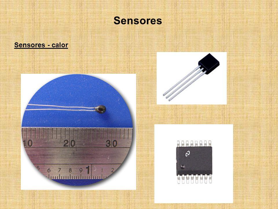 Sensores Sensores - calor