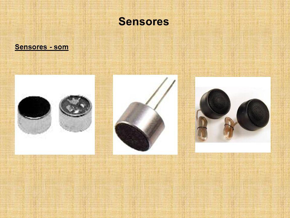 Sensores Sensores - som