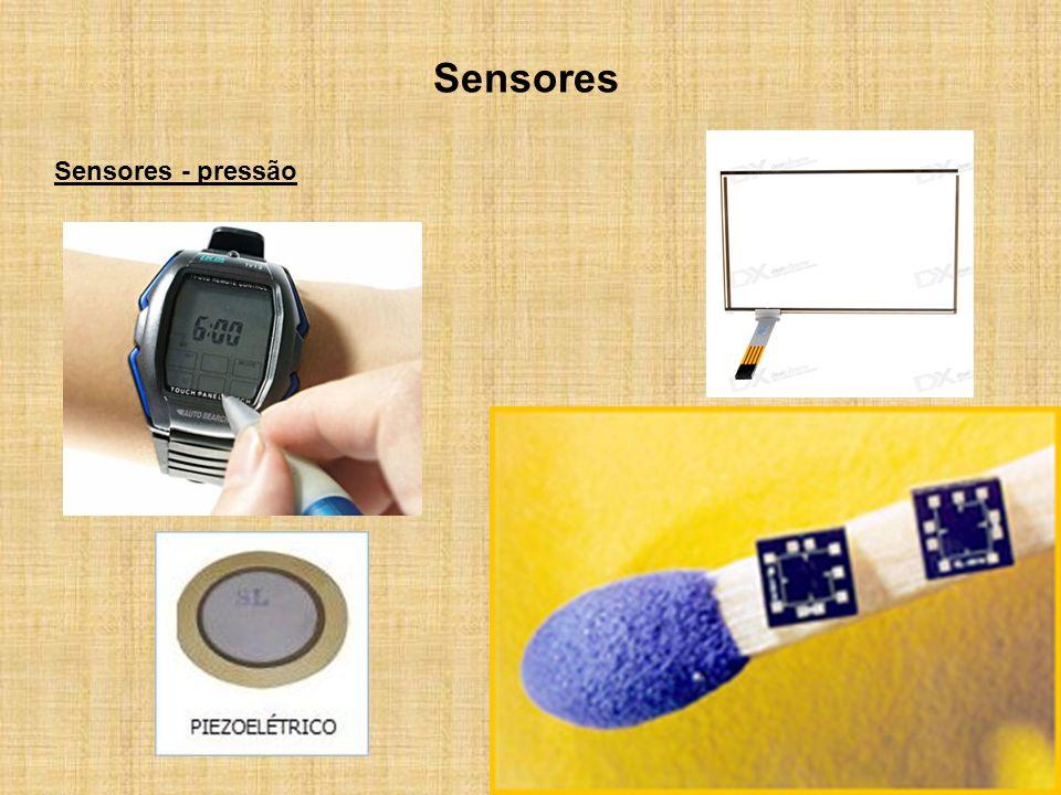 Sensores Sensores - pressão
