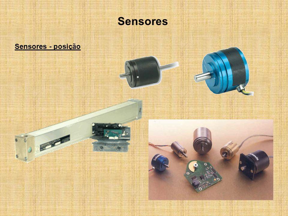 Sensores Sensores - posição