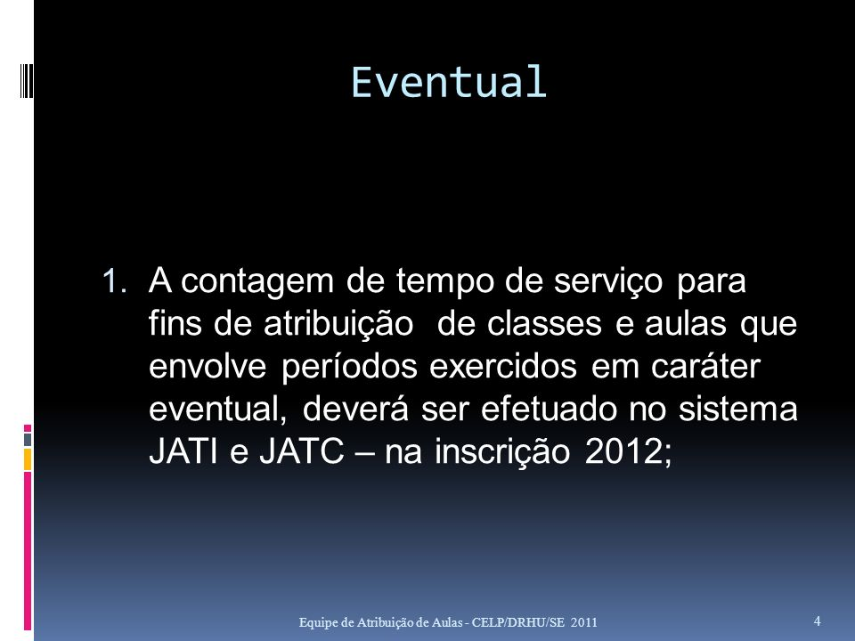 SISTEMA JATI – JATD - JATC 1.