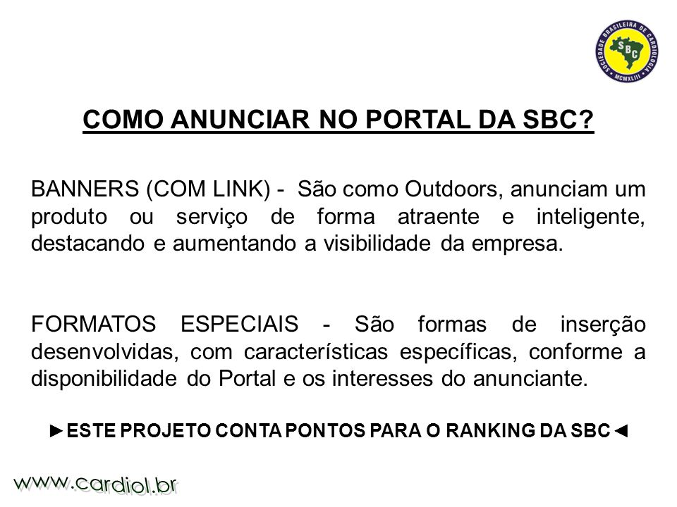 Alguns Exemplos: http://www.cardiol.br/webcards/cartao.asp?CATEG=8 http://www.cardiol.br/webcards/cartao.asp?CATEG=20 http://www.cardiol.br/webcards/cartao.asp?CATEG=2 http://www.cardiol.br/webcards/cartao.asp?CATEG=30 Web Card Temático