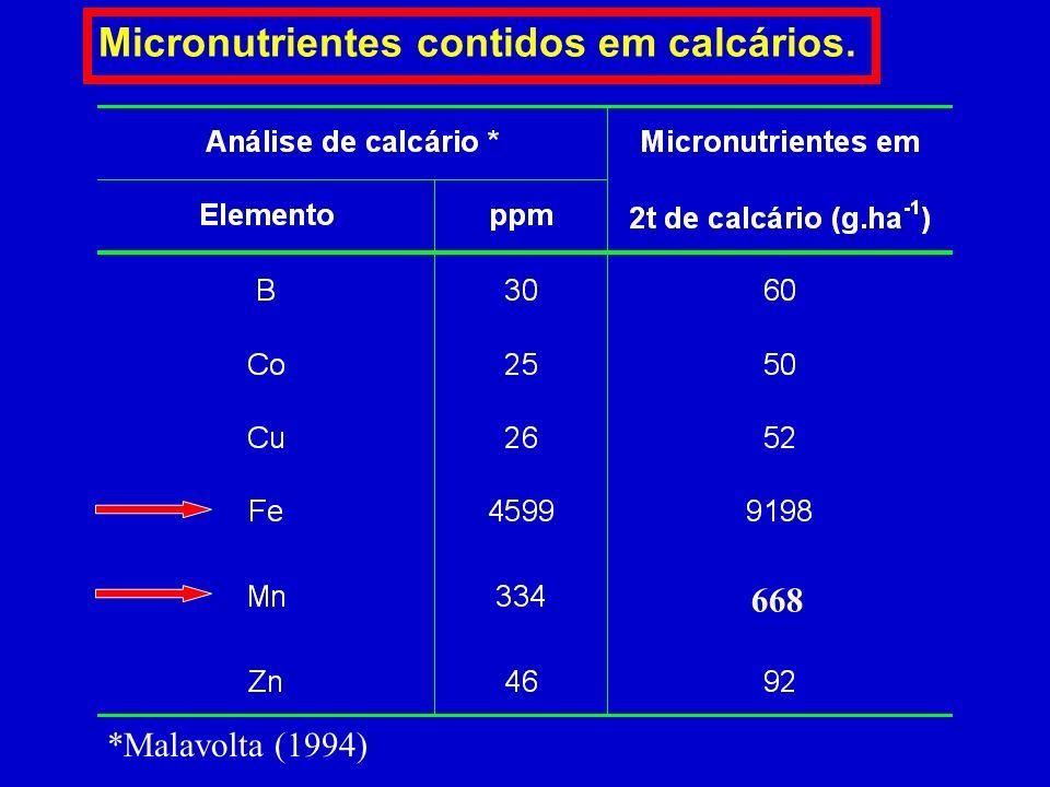 OUTRAS FONTES DE MICRONUTRIENTES