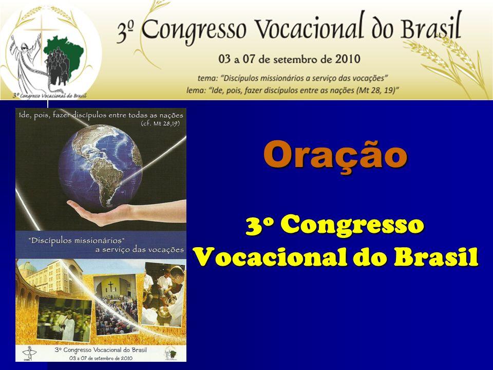 Oração 3º Congresso Vocacional do Brasil