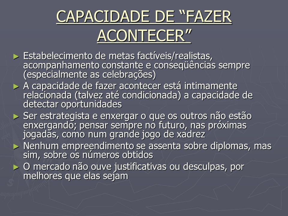 4 - CAPACIDADE DE SE RELACIONAR E DE CRIAR UMA REDE DE RELACIONAMENTOS
