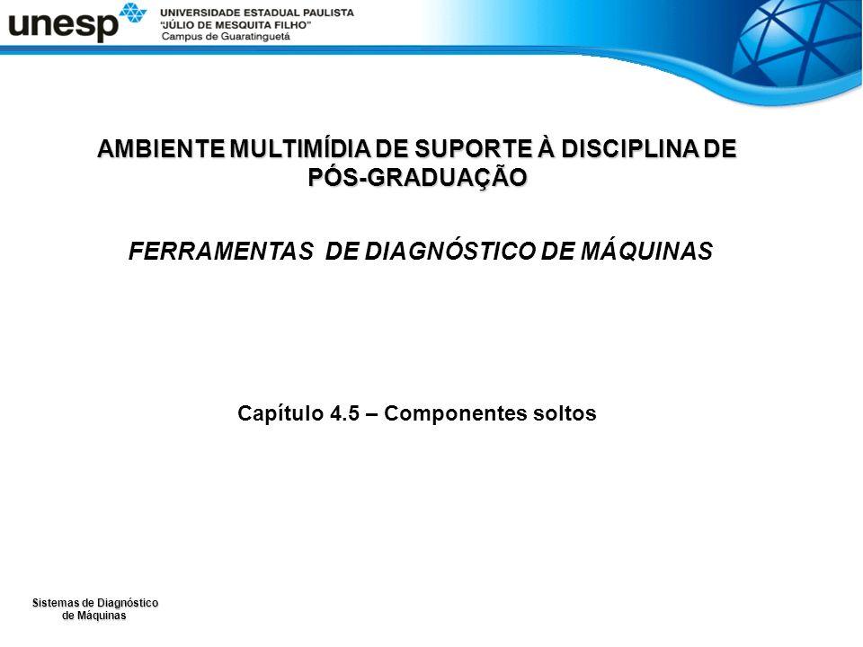 Sistemas de Diagnóstico de Máquinas AMBIENTE MULTIMÍDIA DE SUPORTE À DISCIPLINA DE PÓS-GRADUAÇÃO FERRAMENTAS DE DIAGNÓSTICO DE MÁQUINAS Capítulo 4.5 – Componentes soltos