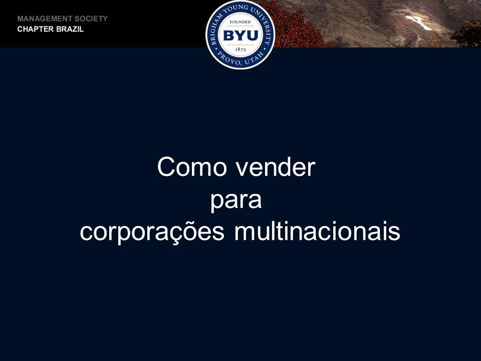 Minha Experiência -Formação em Marketing pela ESPM -MBA pela Marriott School of Management -Atuei em Vendas, Consultoria e Desenvolvimento de Negócios -Fechei negócios de $300 a $30MM -Vendas de software e consultoria para grandes empresas no Brasil -Atualmente Diretor de Serviços a Clientes na América Latina