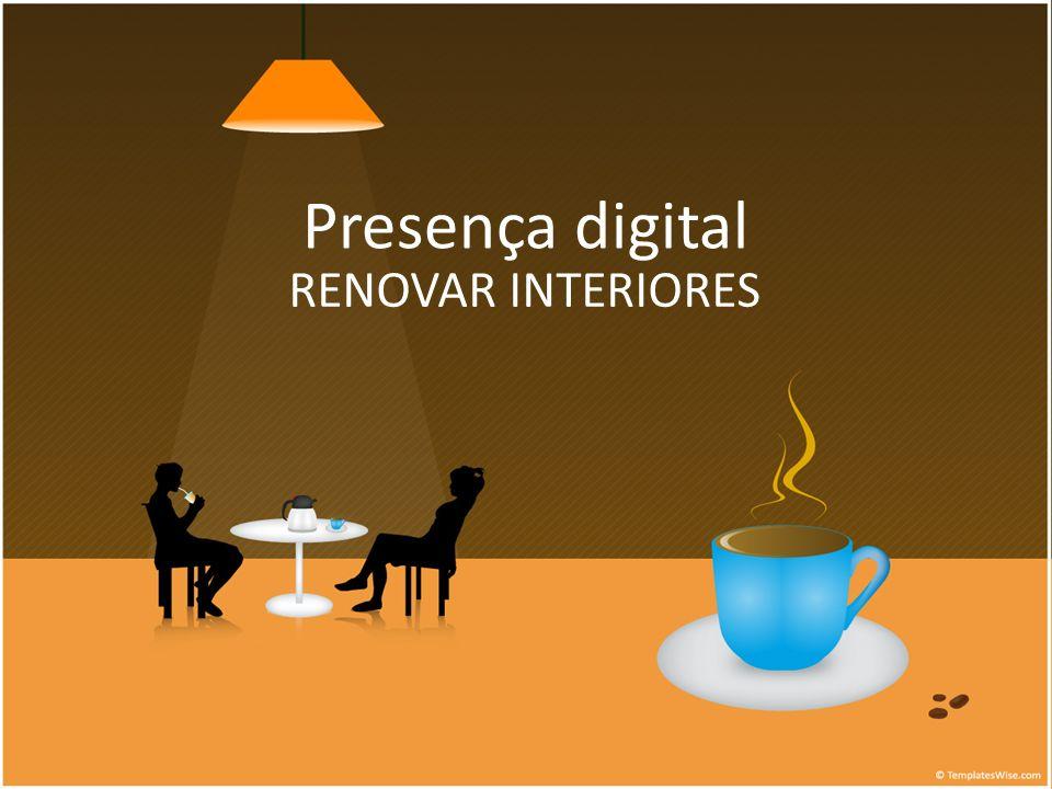 Presença digital RENOVAR INTERIORES